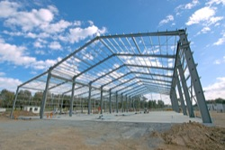 Structural steel supply and erect