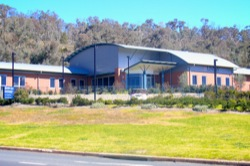 Structural steel for Uni NSW training facility Albury Base Hospital